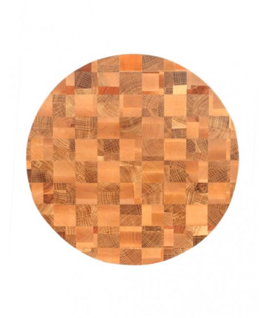 Торцевая доска Chess field (Round Light)