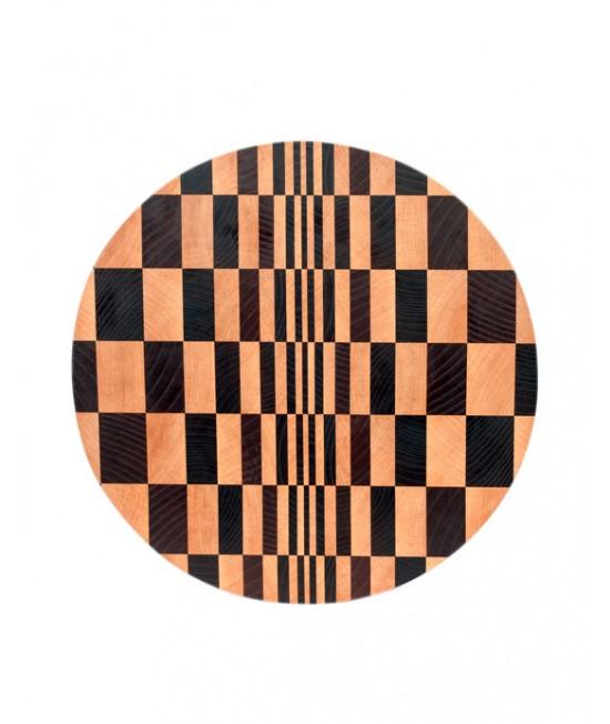 Торцевая доска 3D иллюзия (круг)